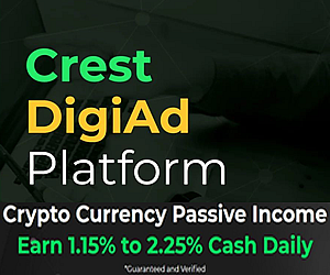 Crest Token - Crypto Daily Passive Income