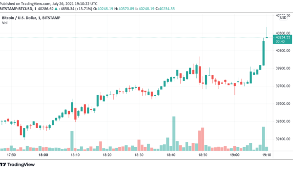 Bitcoin hits $40K after a 6-week absence, but on-chain activity is 'somewhat bearish'